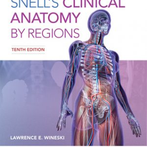 کتاب اناتومی Snell's Clinical Anatomy by Regions